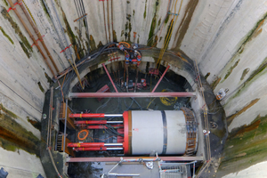 """<div class=""""bildtext_en"""">As part of the Antwerp Master Plan 2020, accessible supply tunnels were constructed using the pipe jacking method</div>"""