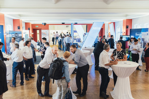 """<div class=""""bildtext_en"""">A total of 15 sponsors were represented at an accompanying exhibition on three days during the conference</div>"""