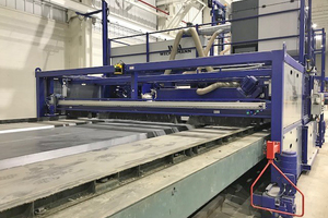 … und die RPÖ Maschine an den Betonfertigteilhersteller Kerkstra