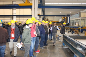 """The """"2018 Technical Mission to Italy"""" included a visit to MC Prefabbricati in the northern Italian town of Bellinzago Novarese"""