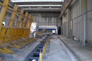 The architectural concrete elements are finished using the Bellacrete plant supplied by Maema srl based in Villafranca di Verona …
