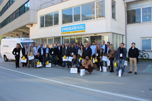 "<div class=""bildtext_en"">The participants of the Technical Mission toured several production facilities of precast plants, equippers and suppliers, among others Progress in Brixen, …</div>"