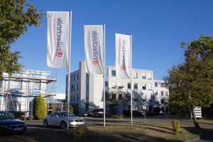 Exterior view of Unitechnik Systems GmbH
