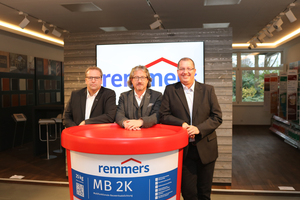 "<div class=""bildtext_en"">Since the beginning of November, experts with experience in the industry have expanded the range of activities at Remmers, in particular, in the Upper Austria region (from left to right): Christina Zika, Helmut Grubmüller and Arnold Pöschl </div>"