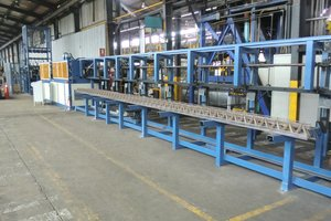 PL Tris lattice girder welding machine