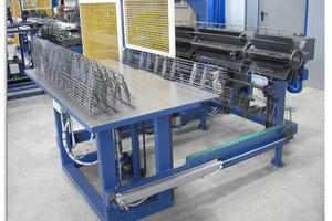 PLT B Spacer machine for A-shaped supports