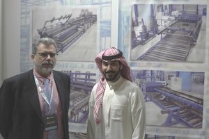 George S. Adamis and Mohammed Alshaer represent Eurobend, a leading manufacturer of machinery and equipment for processing reinforcement in the Middle East