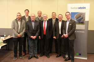 The new Board for the next three years (from left to right): Johann Socher, Helge Koll, Johannes Rüsing, Thomas Aicheler, Martin Kronimus, Frank Diegmüller, Andreas Schlemmer and the Chairman Florian Klostermann