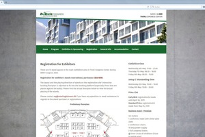 At the website for the BIBM Congress 2020 in Copenhagen, exhibitors can now book their stand