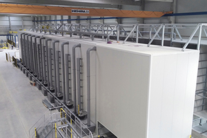 """<div class=""""bildtext_en"""">Curetec has delivered a system for controlling the climate in the curing chamber of the new Biebesheim Railroad Sleeper Plant of the concrete plant Leonhard Moll Betonwerk GmbH &amp; Co</div>"""