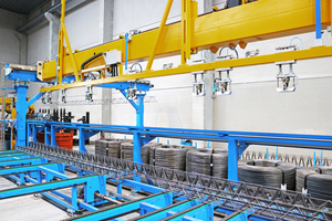 "<div class=""bildtext_en""><irspacing style=""letter-spacing: -0.01em;"">The Progress lattice girder welding and handling machines of the VGA Versa series represent the best in flexible, just-in-time lattice girder production</irspacing></div>"