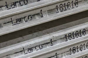 "<div class=""bildtext_en"">With the plotter from Echo Precast concrete parts can be marked on the sides with identification details</div>"