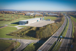 "<div class=""bildtext_en"">The new production site of Larco is based in the second biggest industrial zone of the province of Liège: the East Belgium Park</div>"