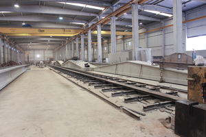 """<div class=""""bildtext_en"""">Vigobloco manufactures girders with spans of up to 43 m</div>"""