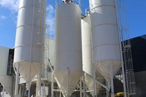 """<div class=""""bildtext_en"""">The mixing plant was obtained to enhance the working conditions and for optimizing the production processes </div>"""