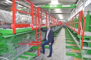 """<div class=""""bildtext"""">Thomas Strach, Vertriebsingenieur bei Avermann, betonte die ausgezeichnete Zusammenarbeit mit den Glass-Betonfertigteilspezialisten</div>"""