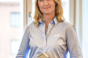 "<div class=""bildtext_en"">Carina Edblad, CEO of Thomas Betong AB, the Group's Swedish subsidiary, considers the investment into the Heby factory was an essential next step to broaden its customer offering</div>"