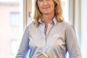 """<div class=""""bildtext"""">Carina Edblad, CEO von Thomas Betong AB, der schwedischen Tochtergesellschaft der Gruppe, betrachtet die Investition in das Werk Heby als einen wesentlichen weiteren Schritt, das Angebot für die Kunden zu erweitern</div>"""