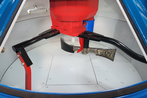 """<div class=""""bildtext"""">Der Teka-Hochleistungs-Turbinenmischer ist generell für schwierigste Mischaufgaben und unterschiedlichste Chargengrößen optimal geeignet</div>"""