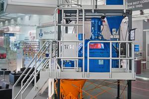 """<div class=""""bildtext"""">Zur diesjährigen bauma in München hat die Firma Teka ihre neue geräumige Versuchsanlage vorgestellt</div>"""