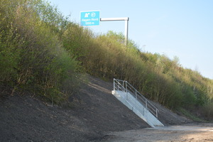 "<div class=""bildtext_en"">At kilometer 343.15 near Exit Hagen-Nord, the media tunnel crosses below the A1 expressway </div>"