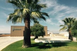 "<div class=""bildtext_en"">The Prefesur site in Fuente Palmera near the southern Spanish city of Córdoba with the precast concrete hall</div>"