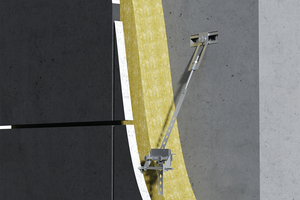"""<div class=""""bildtext_en"""">The Halfen FPA-SL30 fixing system enables simple and precise installation of thin concrete façade panels</div>"""