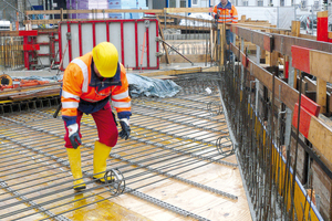 """<div class=""""bildtext_en"""">The perfect-fit reinforcement elements are manufactured tailored to the individual construction project</div>"""