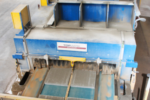 """<div class=""""bildtext_en"""">A state-of-the-art finishing line for concrete block slabs, supplied and installed by SR Schindler, forms the core component of the production facility</div>"""
