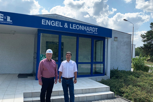 "<div class=""bildtext_en"">Jochen Zumpe (general manager of Engel &amp; Leonhardt/left) and Axel Mahlo (managing partner of Mahlo Bau) </div>"