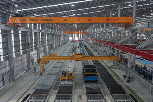 """<div class=""""bildtext_en"""">Echo installed four production beds with a length of 150 m and a width of 2.4 m each as well as the Echo Slipformer S-Liner </div>"""