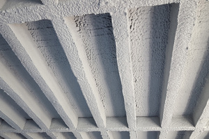"""<div class=""""bildtext_en"""">The Stocrete TS 203 wet spray mortar was used to restore the load-bearing capacity of the ribbed floor of the Balingen secondary school </div>"""