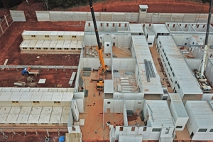 "<div class=""bildtext_en"">Within the last 15 years more than 100 precast concrete prisons were produced at Siscobras and erected on site</div>"