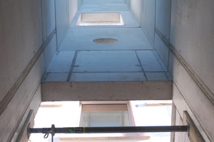 """<div class=""""bildtext_en"""">The slender lift elements from Hieber are cast with concrete on four sides and are delivered to the construction site fully equipped</div>"""