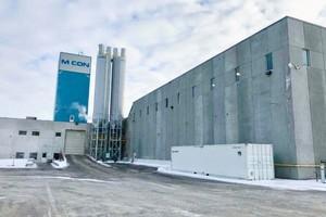"<div class=""bildtext_en"">Exterior view of M CON plant in Carp, Ontario </div>"