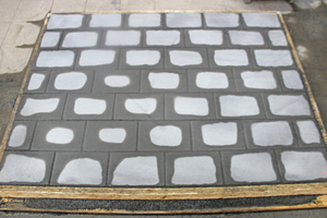 "<div class=""bildtext_en"">Fig. 14a: Prolonged drying of pavers ...</div>"