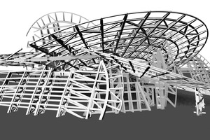 "<div class=""bildtext_en"">CAD model of the secondary steel structure</div>"