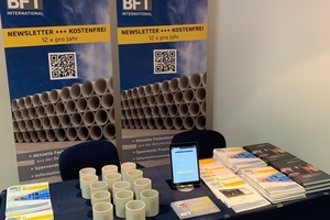 "<div class=""bildtext_en"">BFT International was present with an exhibition stand</div>"