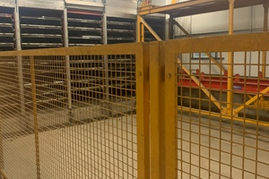 """<div class=""""bildtext_en"""">The Georgensgmünd overhaul project started with converting the curing chamber for precast floor units </div>"""