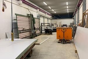 "<div class=""bildtext_en"">The carpenter's shop was also modernized as part of the comprehensive overhaul </div>"