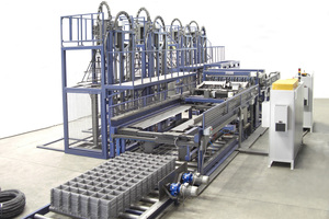 """<div class=""""bildtext_en"""">PL AKK machine for small and medium sized mesh - cross wire welding above and below the line wires</div>"""