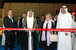 "<div class=""bildtext_en"">Official opening ceremonies at the new Peikko Factory in Ras Al Khaimah, United Arab Emirates</div>"
