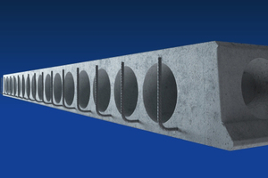 """<div class=""""bildtext_en"""">For the first time, it is possible to manufacture earthquake-resistant hollow-core slabs with variable dimensions </div>"""