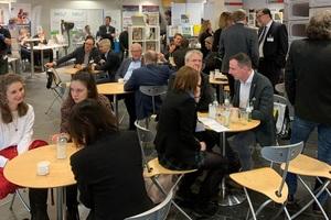 """<div class=""""bildtext"""">Eine sehr gute Möglichkeit zum Netzwerken bot das Café-BFT des Medienpartners BFT International </div>"""