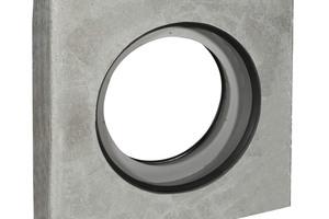 """<div class=""""bildtext"""">Die Betonfertigteil-Rohrkupplungen dienen sowohl einem beliebigen Querschnitts- wie dem Materialwechsel</div>"""
