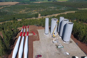 """<div class=""""bildtext"""">Pro Turm wurden 400 m³ Beton benötigt</div>"""
