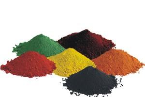 """<div class=""""bildtext"""">C&amp;G Pigment bietet ein breites Farbspektrum für die Bauindustrie</div>"""