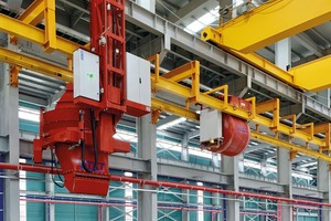 "<div class=""bildtext_en"">Fully automated concrete distribution system with Casting Machines</div>"