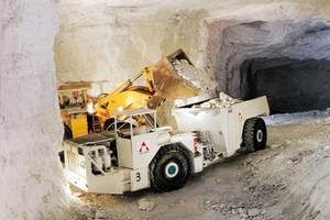 """<div class=""""bildtext_en"""">Erzgebirge marble is quarried in Germany's highest open-pit mine in Hammerunterwiesenthal in Saxony, by open cast and underground mining</div>"""