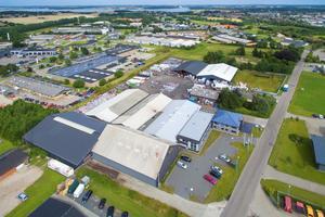 """<div class=""""bildtext_en"""">The Omnicon company premises in Sønderbørg/Denmark</div>"""